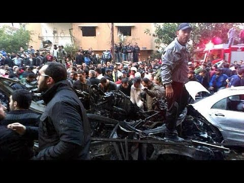 'Hezbollah targeted' in Beirut bomb blast, at least 5 killed