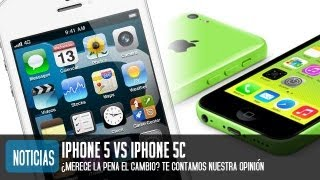 Comparativa IPhone 5C Vs IPhone 5 ¿Merece La Pena El