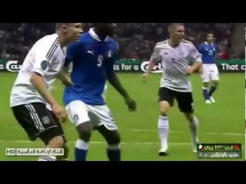 Mario Balotelli all 3 Goals in Euro 2012 vs Germany & Ireland