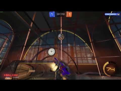 rocket league gameplay w/ LOGIC 72 , fearless & StuffySkink