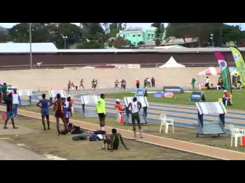 Barbados Today BSSAC Exclusive: 200M Under 15 Girls