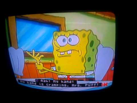 spongebob essay quote