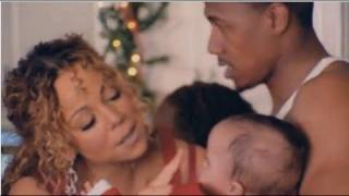 Mariah Carey Shows Off Twins Roc and Roe in Christmas Video