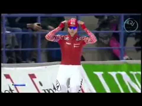 Sang Hwa Lee & Olga Fatkulina 500m, Calgary 2013, qualification sochi 2014