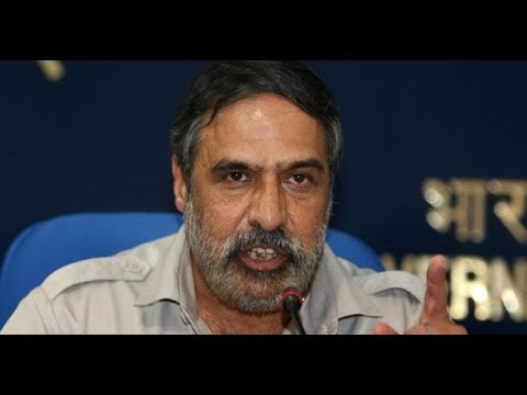 Congress Minister Anand Sharma questions Rajnath Singh