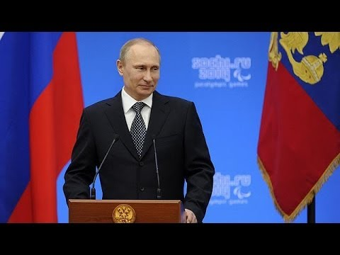 Putin recognises Crimea as a sovereign and independent state