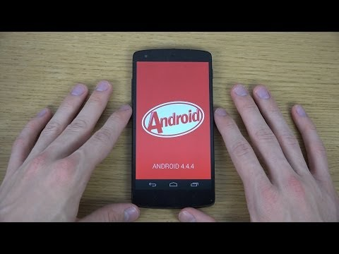 Google Nexus 5 Android 4.4.4 KitKat - Review 4K Video