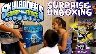Skylanders Swap Force Surprise / Unboxing Of Dark Starter