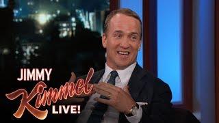 Peyton Manning on Golfing with Donald Trump