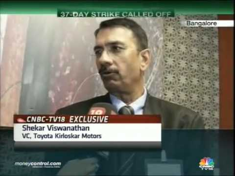 Toyota sure of meeting order backlog; strike called off