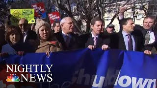 Federal Workers Protesting Across The Country Call For End Of Government Shutdown | NBC Nightly News