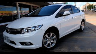 Test Drive Honda Civic EXR 2.0 2014 (Canal Top Speed