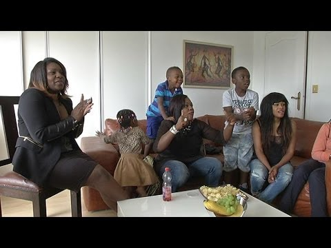 France-Nigeria dans le salon des Matuidi - 01/07