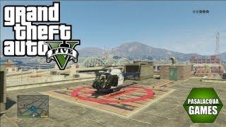 GTA V Como Pegar O Helicóptero Da Polícia !