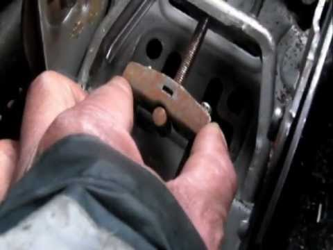 How To Replace Your Megan Hand Brake Lever Youtube