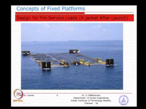 Mod-02 Lec-02 Concepts of Fixed Offshore Platform Deck and Jacket - 2