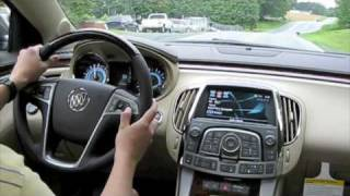 Test Drive The All New 2010 Buick LaCrosse CXS 3.6 videos