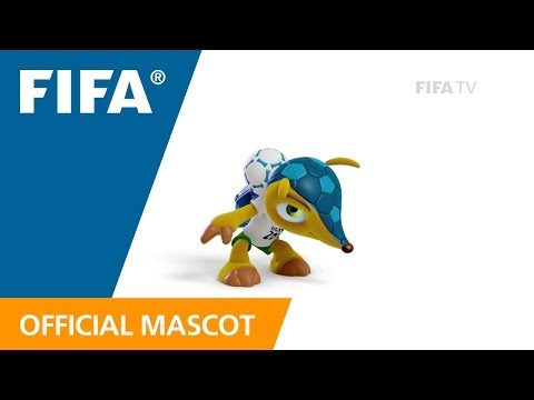 Fuleco trains for the FIFA World Cup!