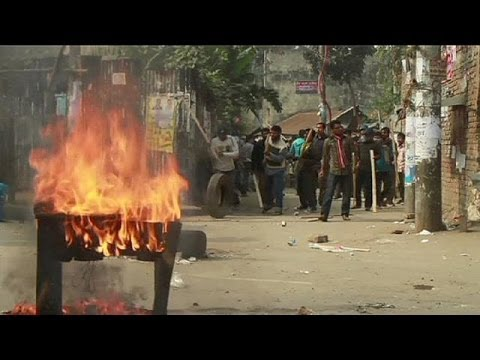 Clashes erupt in Bangladesh - no comment