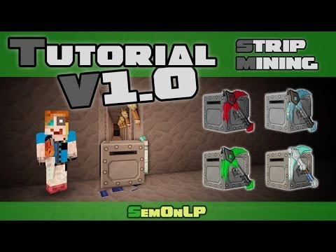 Tutorial - Stripmining - Mining Turtle - Tekkit Lite (Computercraft) - [HD] [DE/GER]