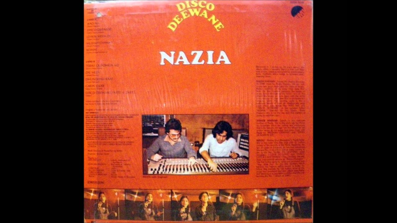 nazia hassan disco deewane 1980 lp original version