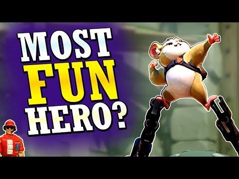 Overwatch - BEST New Hero? (Wrecking Ball Analysis/Review)