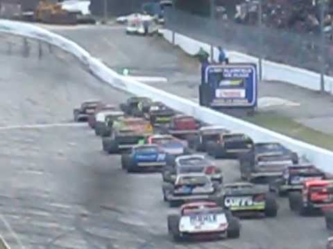 Thompson Speedway Icebreaker 2013 - NASCAR Whelen Modified Feature