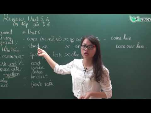 [Vinastudy.vn] LUYỆN THI IOE LỚP 3 - Review Vocabulary and Structures Unit 5, 6 - Cô Như Quỳnh