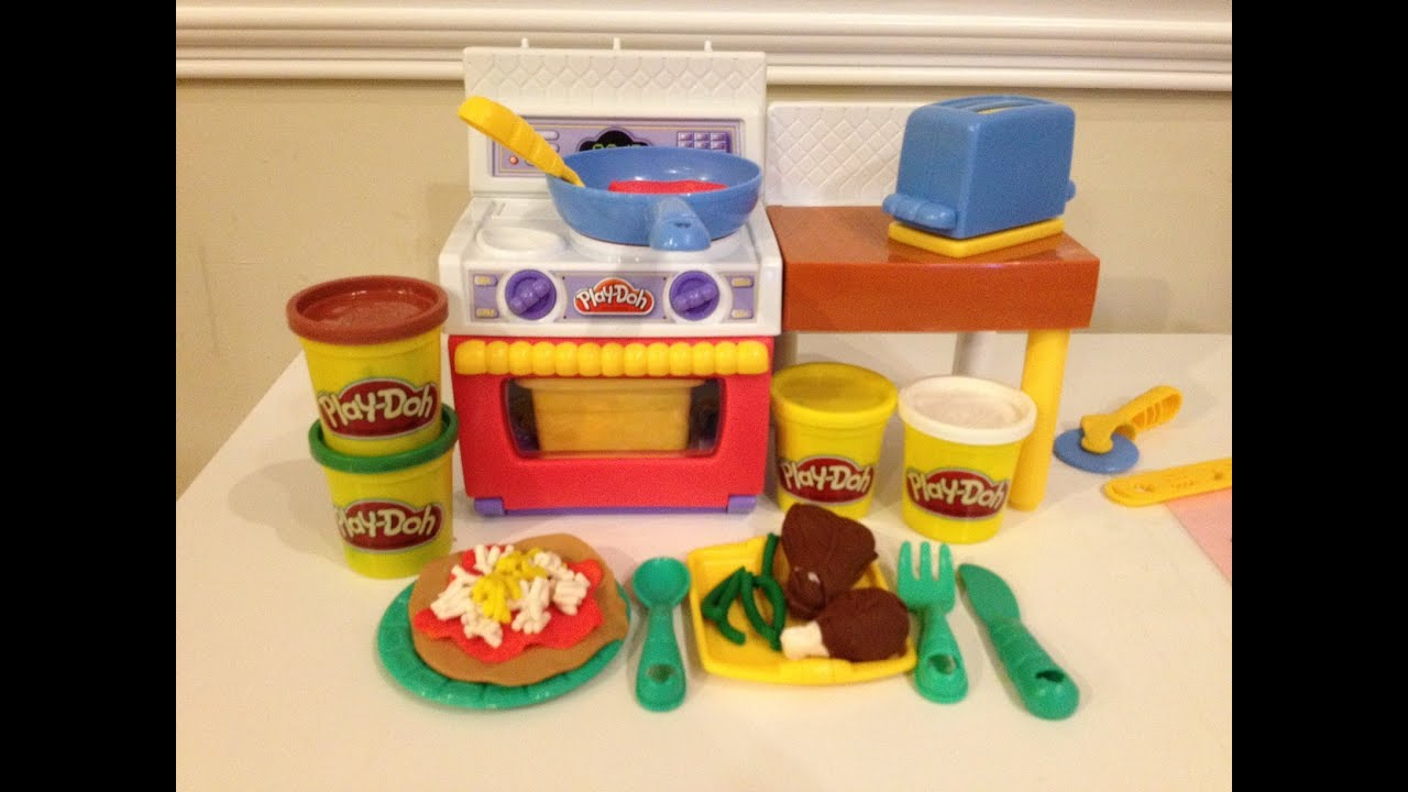 play doh meal makin 39 kitchen how to make play doh pizza tacos and burgers toy playset youtube. Black Bedroom Furniture Sets. Home Design Ideas