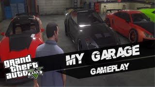 GTA V (GTA 5): My Garage Gameplay (Xbox 360)