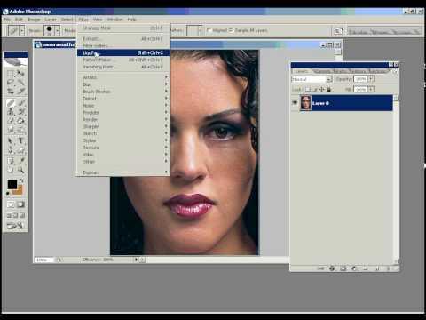 Maquiagem Digital: Aula de Photoshop  1 de 2   Diego Zanini