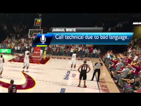 Video: – Dude Gets A Technical Foul From His Xbox One For Swearing While Playing NBA 2K14!