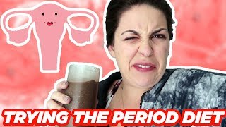 """I Tested The """"Period Diet"""" To Help With PMS"""