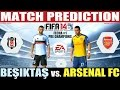 FIFA 14:  Besiktas vs.  Arsenal FC Match Prediction Pre Champions Fecha #1