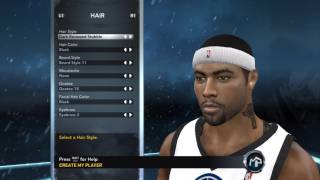 NBA 2K12 My Player Mode Creation Of David IpodKingCarter