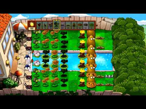 Plants Vs Zombies - Xbox 360 - Survival Pool Hard Part 2