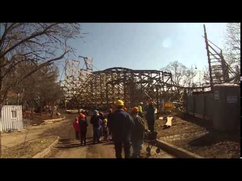 Goliath Construction Tour/Walk Around The Park 4-5-14