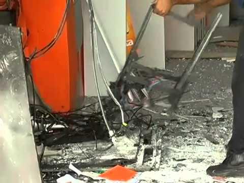 Explosões de caixas eletrônicos têm redução de 14% em MG no 1º trimestre de 2014