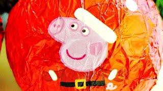 vamos a abrir seis huevos sorpresa navide os de peppa pig son huevos