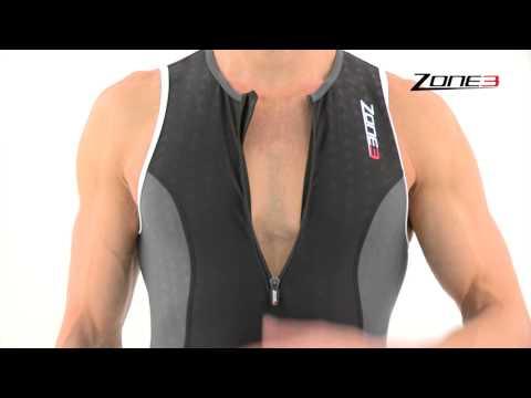 Men's Zone3 Aquaflo Tri Suit