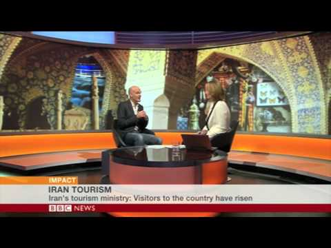 BBC World Impact interview with Jonny Bealby on tourism in Iran