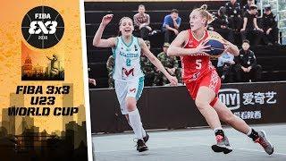 Кубок Азии по баскетболу 3х3 U-23 среди женских команд 2018 - Групповой этап: Казахстан - Беларусь