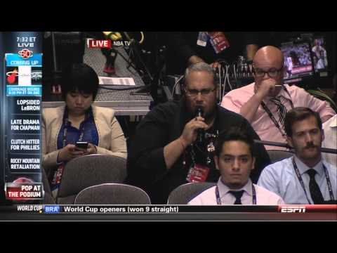 Gregg Popovich one word press conference