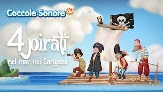 Quattro Pirati Nel Mar Dei Sargassi Canzoni Per Bambini