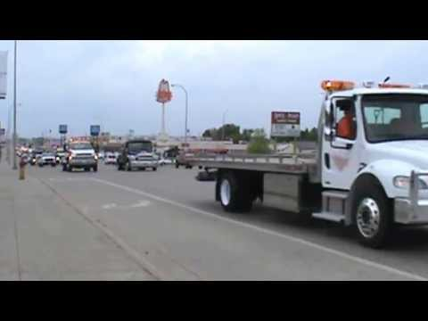 Daniel Newman - Minot, ND - Tow Truck Procession - June 8, 2013