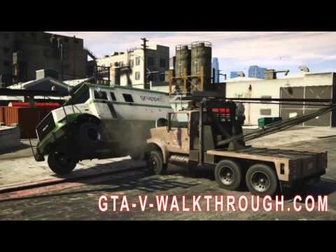 Official GTA V Walkthrough | Rockstar's GTA 5 Gameplay Breakdown