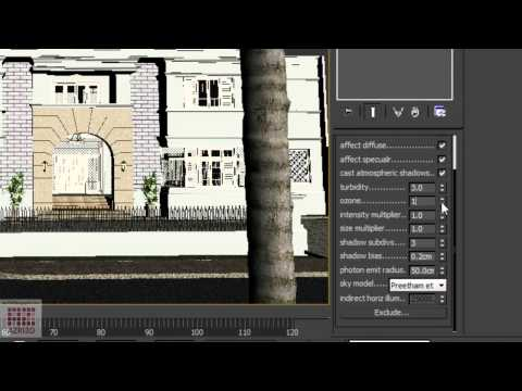3DS Max-Tutorial 10-Animasi Ars 101-Menganimasikan Vray background-Bahasa Indonesia