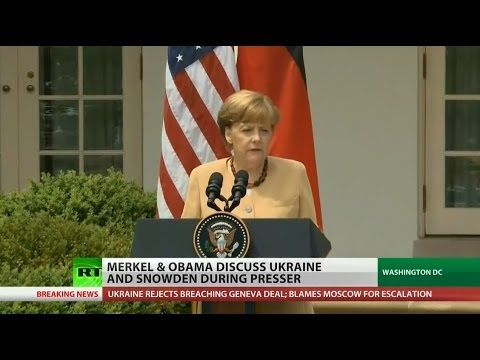Obama, Merkel struggle to see eye-to-eye