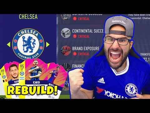 CHELSEA REBUILD! INSANE $90,000,000 TRANSFERS! - FIFA 18 Career Mode