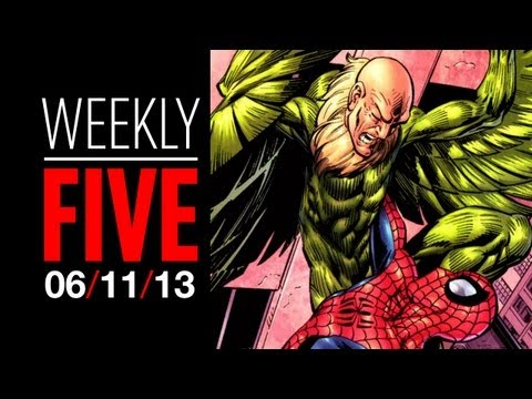 The Weekly Five - June 11, 2013 Movie News HD